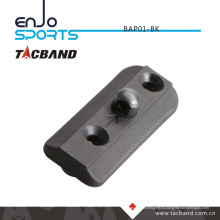 Tacband Тактический Bipod адаптер для Keymod - со шпилькой Bipod Черный