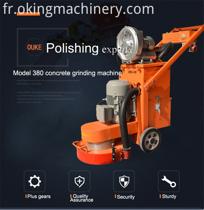 Concrete Floor Grinder Machines