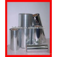 Покрытие ПЭТ-металлизированной пленкой