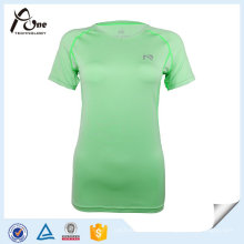 OEM Mulheres Quick Dry T Shirt Sports Wear