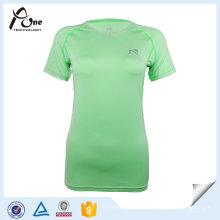 Schnell trocknende T-Shirt Sport-Kleidung der Soem-Frauen