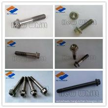 titanium 12 point flange bolt