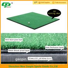 Air cushion eva base 3 D golf swing mat