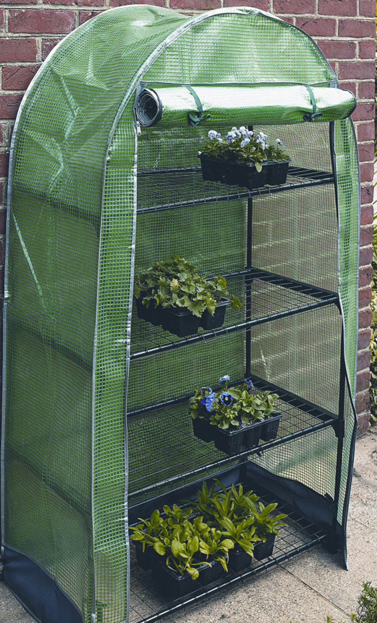 Polytunnel Mini Greenhouse