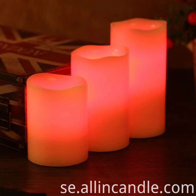 Color Led Candle