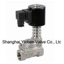 Válvula solenóide de rosca de alta temperatura normalmente fechada (Y21H)