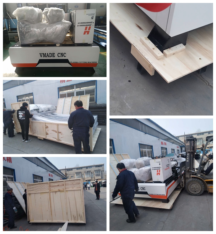 Plasma Cutting Machine Packing And Delivery