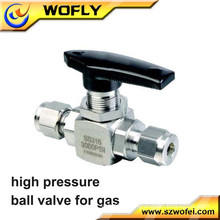 3/8 inch mini ss316 3000 psi ball valve