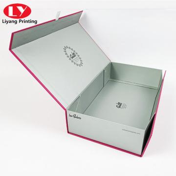 boîte d'emballage personnalisée pour bouteille en verre et vêtements