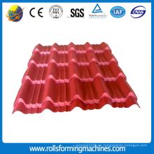 Roofing Colored Glazed Tile Cold Roll que forma la máquina