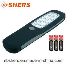 Portátil 24PCS LED que trabaja la parte trasera magnética ligera