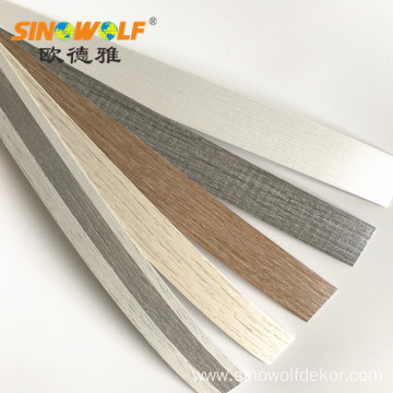 ABS Wood Grain Edge Banding for Furniture Accessory