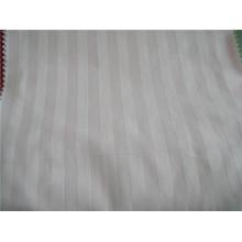 Tela caliente de la raya del algodón de las ventas para el hotel que hace la ropa de cama