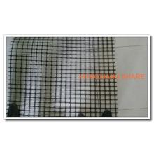 Geomalla Biaxial de plástico para muro de contención