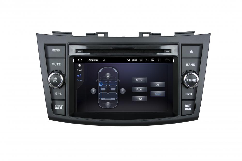 Suzuki SWIFT 2011-2012 7 Inch Car Dvd Player