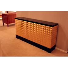 Golden Cabinet for Hotel Furniture