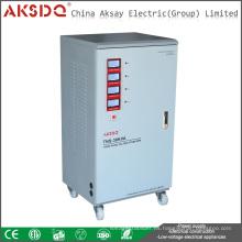 Estabilizador caliente del voltaje de la ciencia de la fase 50HZ / 60HZ 380V TNS 6-90kva Estabilizador eléctrico del voltaje de la ciencia hecho en lLiuShi YueQing China