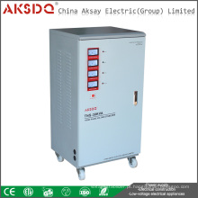 Hot Type 3 Phase 50HZ / 60HZ 380V TNS 6-90kva Servo Electrical Science estabilizador de tensão feito em lLiuShi YueQing China