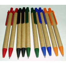 Bolígrafo de papel promocional amistoso de Eco de la venta caliente