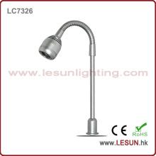 La luz suave de la joyería del tubo 1W LED / la iluminación de la pantalla LC7326