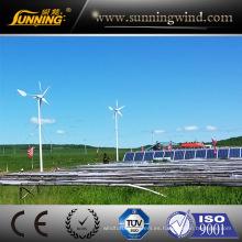 Generador solar de la turbina de viento de la fuente de alimentación del sistema de la luz de calle del viento vendedor superior 2016