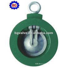 Однодверный пластины типа нержавеющей стали обратный клапан