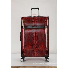 Super silent crocodile PU luggage case