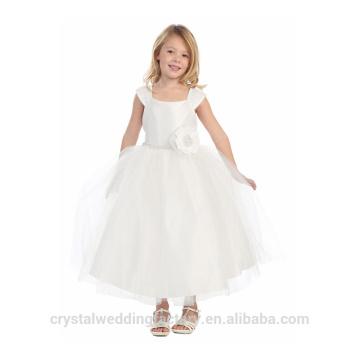 Enfants Mariage 2-12 ans À la mode filles Anniversaire Robe de bal Long Robes de fille à fleurs Motif Enfant Party Wear LF05
