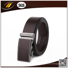 Leather Belt with Fashion Automatic Belt Buckle
