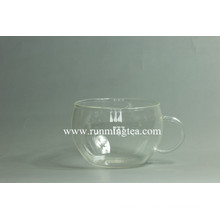 Logotipo personalizado no teaware de vidro