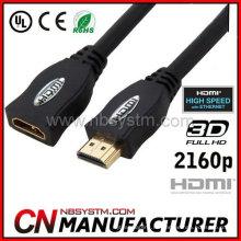 Weibliches HDMI Kabel