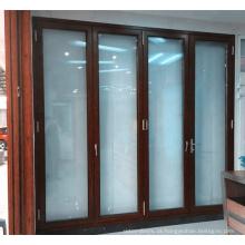 porta do acordeão do sistema da porta de dobradura com boa qualidade e preço competitivo no mercado americano