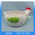 2016 beliebteste Keramik Serviette Ringe, Huhn geformt Tier Serviette Ringe