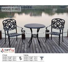 foshan cast aluminum sofa outdoor furniture