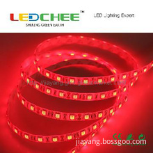 High Brightness SMD5050 Red LED Strip light