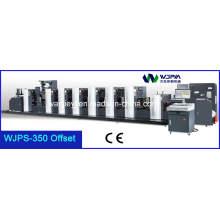 Máquina de impresión de etiqueta intermitente web Feed