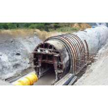 Open-Cut Tunnel Trolley for Steel Structure