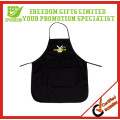 New Arrival Black Promotional Customized Cotton Apron
