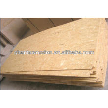 1220x2440x9mm cheap price for the insulated OSB panel /structure bracing