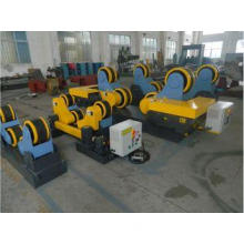 Rubber Wheel Welding Turning Rolls with 10Ton Loading Capac