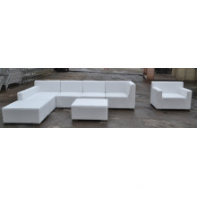 Wholesale high quality modern indoor living furniture leather sofa set