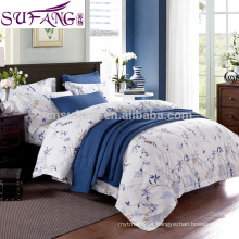 Russian hotel bed linen set manufacture