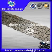 Fabricante profesional Cadena 520 del rodillo de la motocicleta hecha en China (venta directa de la fábrica)