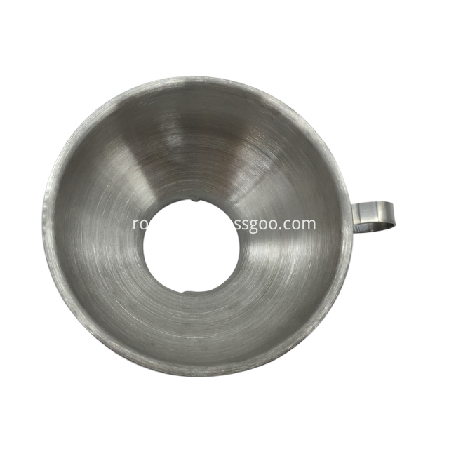 Stainless Steel Jam Funnel With Handle Wide Mouth 2