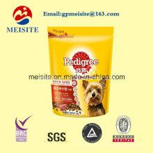La muestra libre modificada para requisitos particulares se levanta el bolso del alimento del animal doméstico de la cerradura de la cerradura