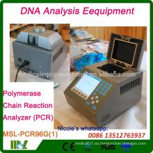 MSL-PCR96G Nueva tecnología y generador de análisis de ADN del hospital / equipo de análisis de ADN / analizador de PCR