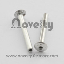 Aluminum hollow rivets