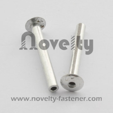Aluminum hollow rivets