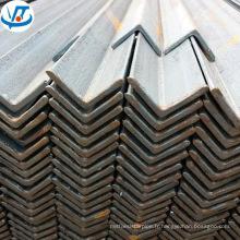 Barre d'acier d'angle de carbone de la taille Q235 SS400 A36 50 x barre en acier de 5mm