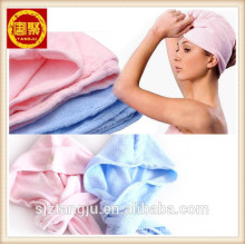 HAIR TOWEL HEAD WRAP turban Microfiber GYM SPA TOWEL